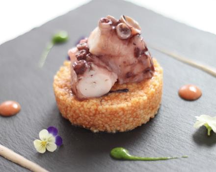 Refined and tasty dishes at the restaurant of the BW Plus Hotel Perla del Porto 4-star