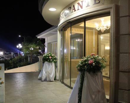 The exterior of the banquet hall for your event in Catanzaro Lido