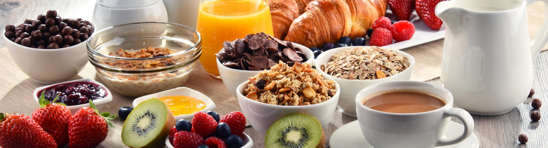 For Platinum, Diamond and Diamond Select members of Best Western Rewards® breakfast is free!