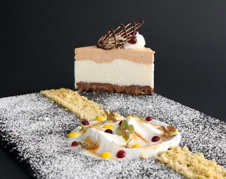 Let yourself be tempted by our restaurant''s dessert: the Hotel perla del Porto worth to be tempted!