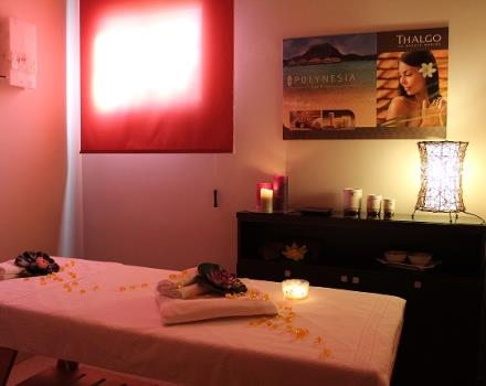 Spa facilities at the Best Western Plus Hotel Perla del Porto, 4 star hotel in Catanzaro Lido, have an massage for beauty treatments
