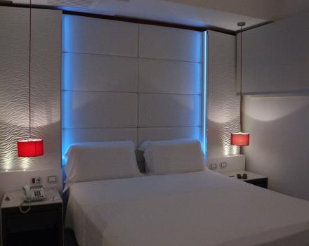 Comfort and services in the rooms of the BW Plus Hotel Perla del Porto, 4 stars in Catanzaro Lido