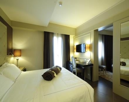 The elegant junior suites at the Best Western Plus Hotel Perla del Porto in Catanzaro Lido
