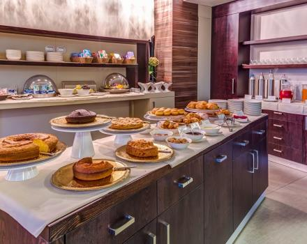 During your stay in Catanzaro takes advantage of the rich breakfast buffet in our hotel 4 stars