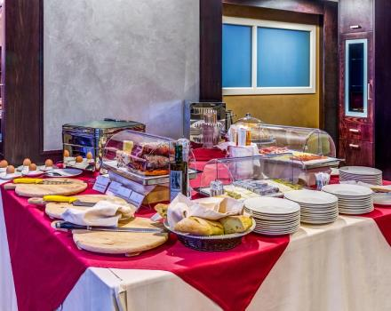 Discover the sweet and savoury products on the buffet breakfast at the Best Western Plus Hotel Perla del Porto, 4 star hotel in Catanzaro