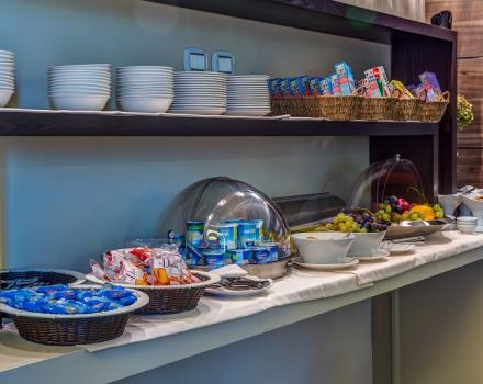 Best Western Plus Hotel Perla del Porto, 4 star hotel in Catanzaro, offers a buffet breakfast with typical products