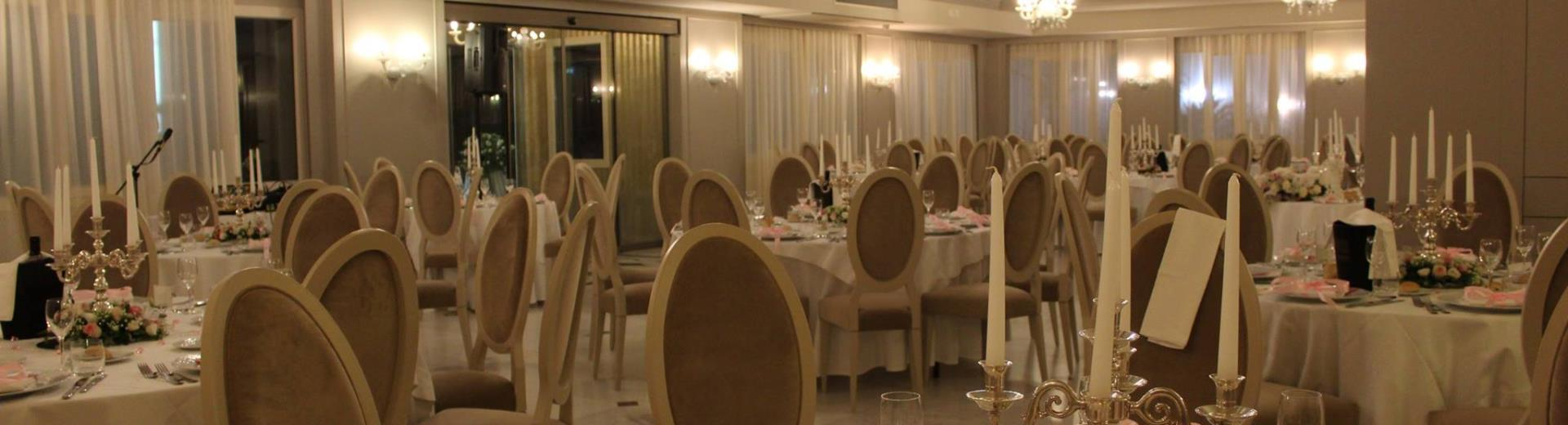 The Pavilion of the BW Plus Hotel Perla del Porto for your wedding in Catanzaro Lido